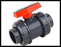 Кран разборный PVC для бассейна (40 мм), фото 1