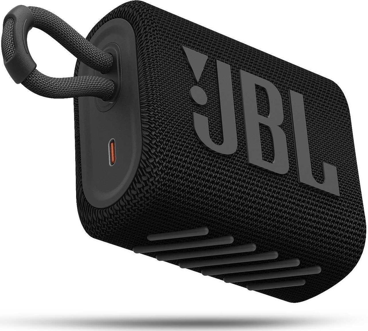 Портативная акустическая система JBL GO 3 черная