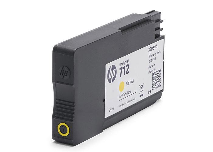 Картридж HP 712 29 мл желтый (3ED69A)