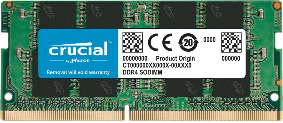 Оперативная память для ноутбука  8GB Crucial CT8G4SFRA266