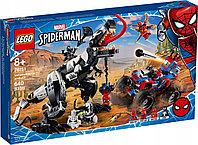 LEGO 76151 Super Heroes Человек-Паук Засада на веномозавра, фото 1