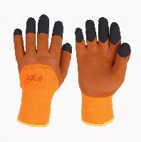 Перчатки 300# Коричневые (Крашенная ладонь)