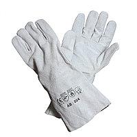Перчатки сварщика спилковые (мал) (зима) краги