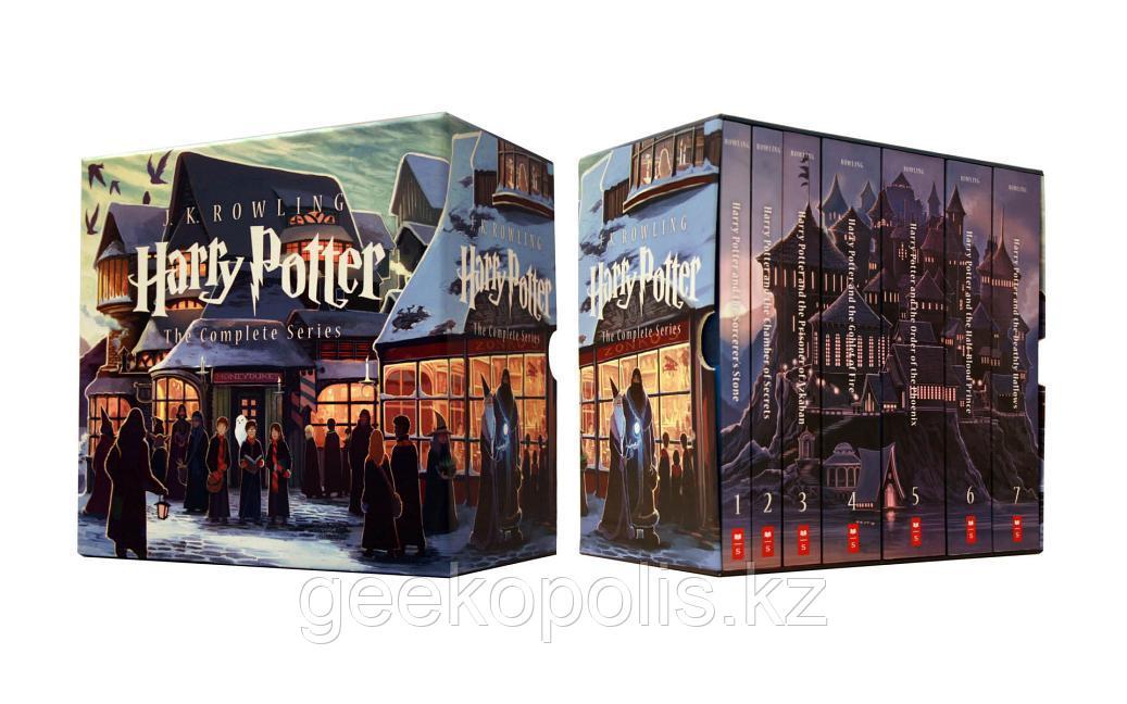 Harry Potter Box Set, Гарри Поттер комплект из семи книг на английском языке, Джоан Роулинг, Мягкий переплет - фото 2