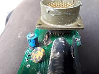 Ремонт блоков управления табло электроники экскаватора