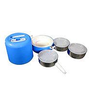 Термос пищевой с тремя контейнерами GREEN WAY, фото 6