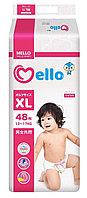 """Японские подгузники """"Mello"""" XL (12-17 кг) 48 шт."""