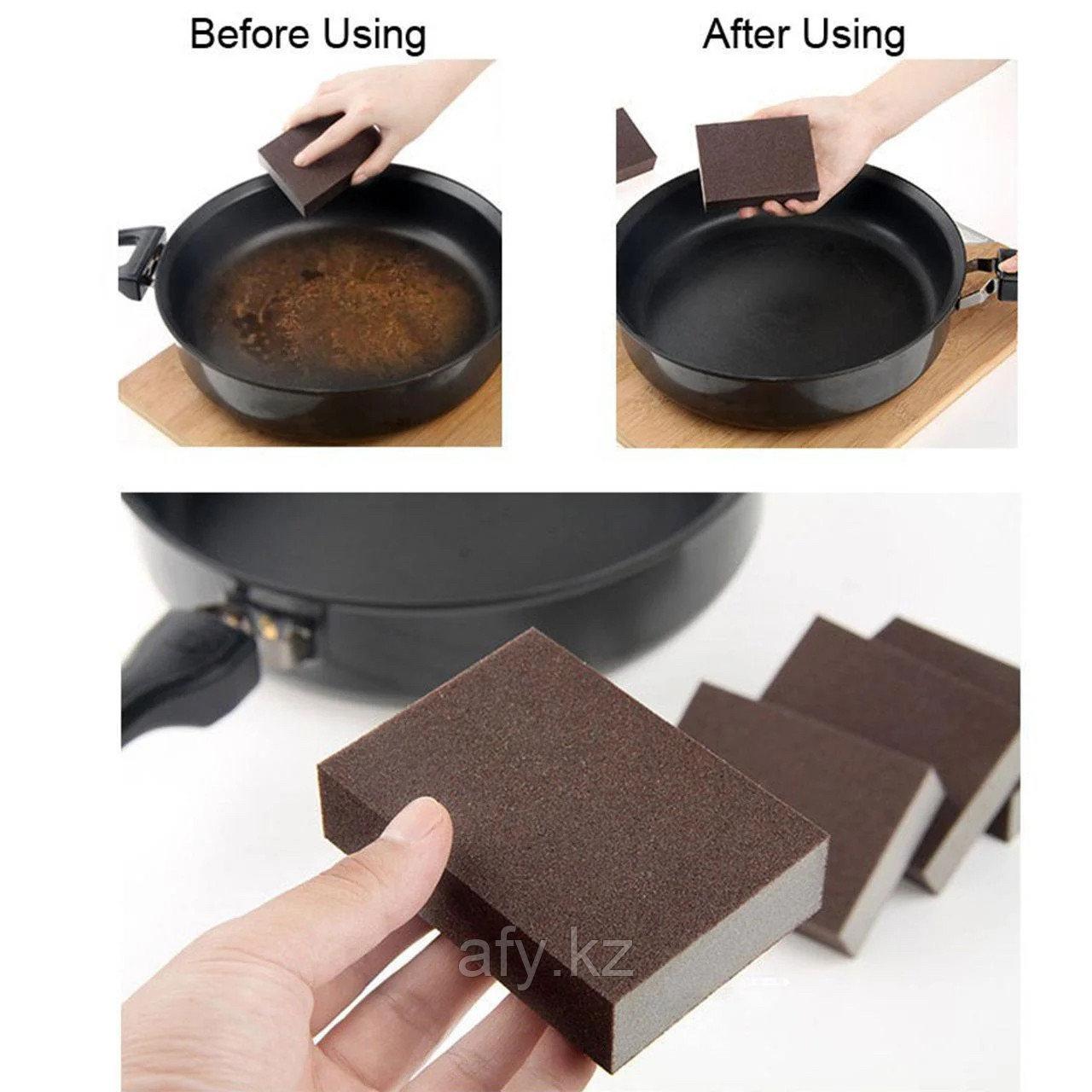 Чудо-губка(губка для чистки сковород и кастрюль)