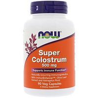 Колострум, молозиво, Now Foods, 500 мг, 120 вегетарианских капсул