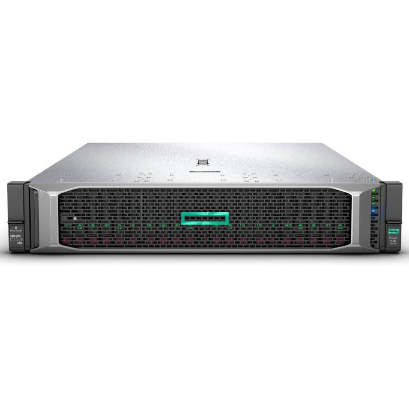 HPE 878712-B21 Сервер DL385 Gen10 1/EPYC 7251 (8C/16T 32MB), 2,1 - 2,9 GHz/1x16 Gb/E208i-a/0,1,5,10/8 LFF