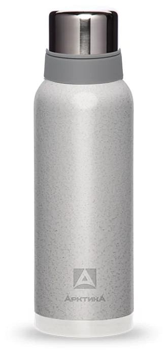 Термос для напитков 1200 мл серебристый