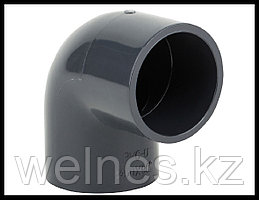 Отвод PVC для бассейна (63 мм)