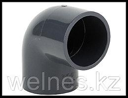 Отвод PVC для бассейна (90 мм)