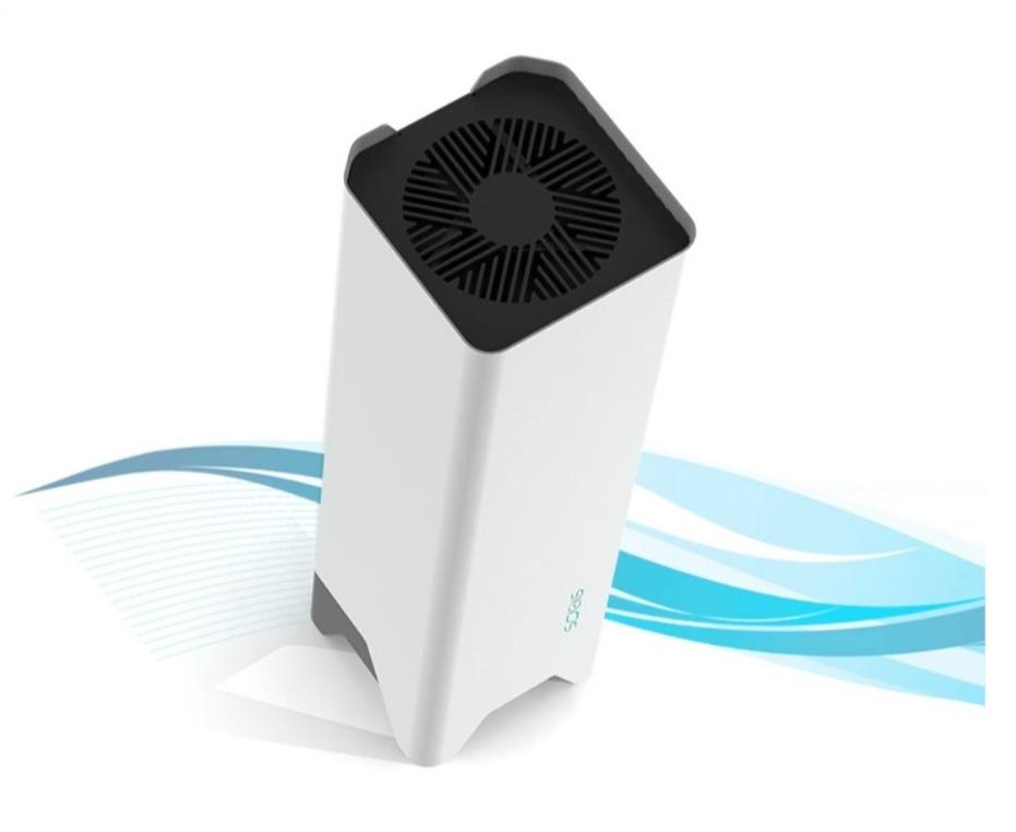 Бактерицидный рециркулятор воздуха SOEKS. Ультрафиолетовый облучатель для обеззараживания. Бактерицидный лампа