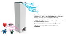 Бактерицидный рециркулятор воздуха SOEKS. Ультрафиолетовый облучатель для обеззараживания. Бактерицидный лампа, фото 2