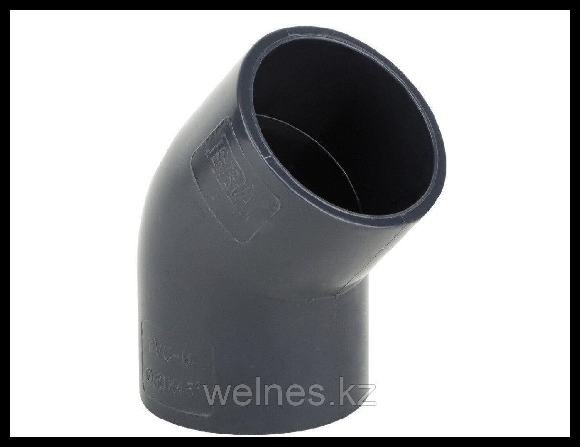 Полуотвод PVC для бассейна (75 мм)