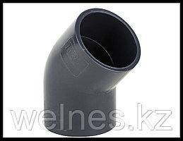 Полуотвод PVC для бассейна (90 мм)