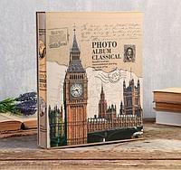 Фотоальбом 400 фото 10х15 см Башня в коробке