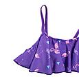 Детские купальники  фиолетовый фламинго, фото 3