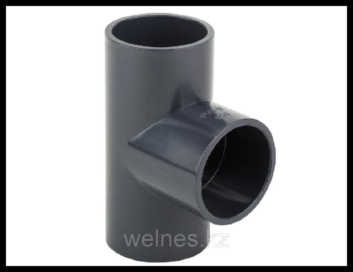 Тройник PVC для бассейна (25 мм)