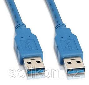 Кабель USB 3.0 Pro Cablexpert CCP-USB3-AMAM-6, AM/AM, 1.8м, экран, синий, пакет