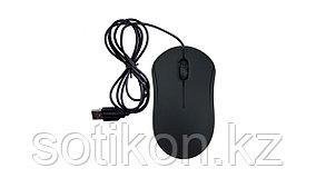 Мышь проводная Ritmix ROM-111 черный