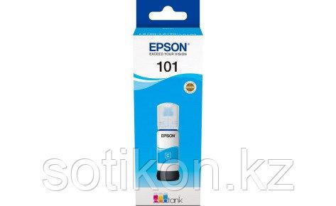 Чернила Epson C13T03V24A 101 EcoTank 70ml для L4150/L4160 голубой, фото 2