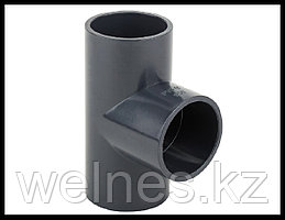 Тройник PVC для бассейна (63 мм)