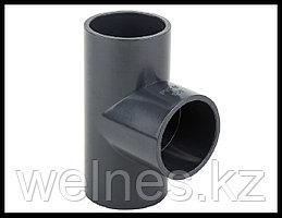 Тройник PVC для бассейна (75 мм)