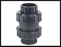 Обратный клапан PVC для бассейна (63 мм), фото 1
