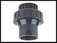 Обратный клапан односторонний с пружиной PVC для бассейна (25 мм), фото 1