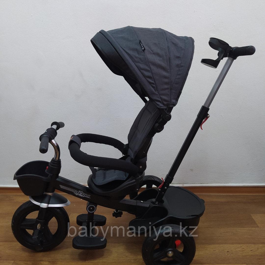 Велосипед детский трехколесный H6018 темно-серый