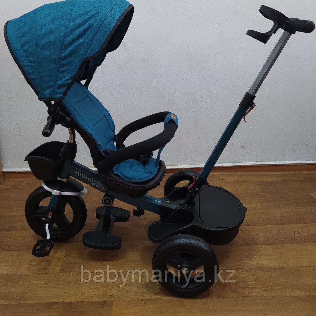 Велосипед детский трехколесный H6018 бирюза