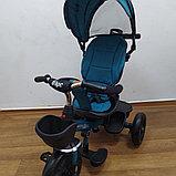 Велосипед детский трехколесный H6018 бирюза, фото 2