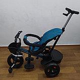 Велосипед детский трехколесный H6018 бирюза, фото 4