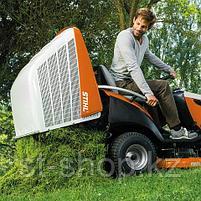 Трактор газонокосилка STIHL RT 6112 C (11,8 л.с.   110 см   350 л) бензиновый райдер (минитрактор), фото 4