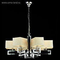 Люстра Megapolis 6x40Вт E14 никель