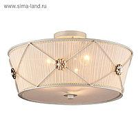 Люстра Lea 3x40Вт E27 белое золото