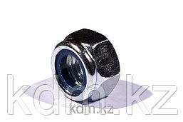 Гайка М8 с нейлоновым кольцом DIN 985 оц