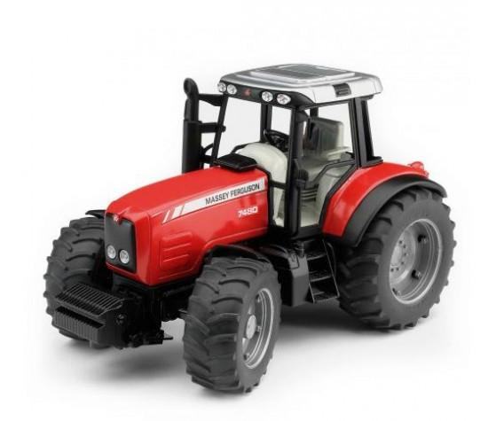 Bruder Игрушечный Трактор Massey Ferguson 7480, красный (Брудер)
