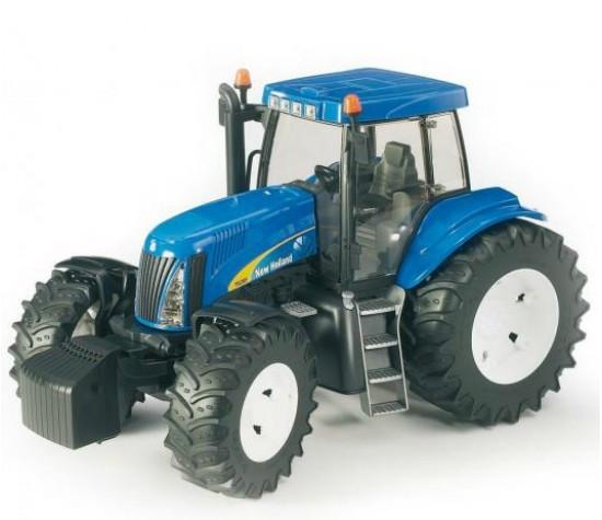 Bruder Игрушечный Трактор New Holland T8040 (Брудер)