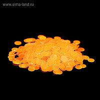 Камифубуки для декора, 2,5 мм, цвет неоновый оранжевый
