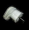 Вилка с заземлением 1*16А, 220В, IP44
