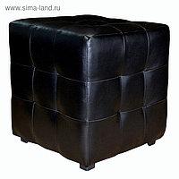 Пуф «Куб» чёрный