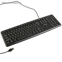 """Клавиатура """"Гарнизон"""" GK-100, проводная, мембранная, 104 клавиши, USB, чёрная"""