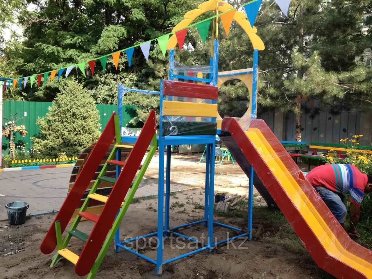 Спортивно игровые детские площадки