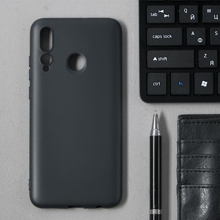 Чехол Innovation, для Huawei Honor 10i/20 Lite, силиконовый, матовый, черный - фото 6