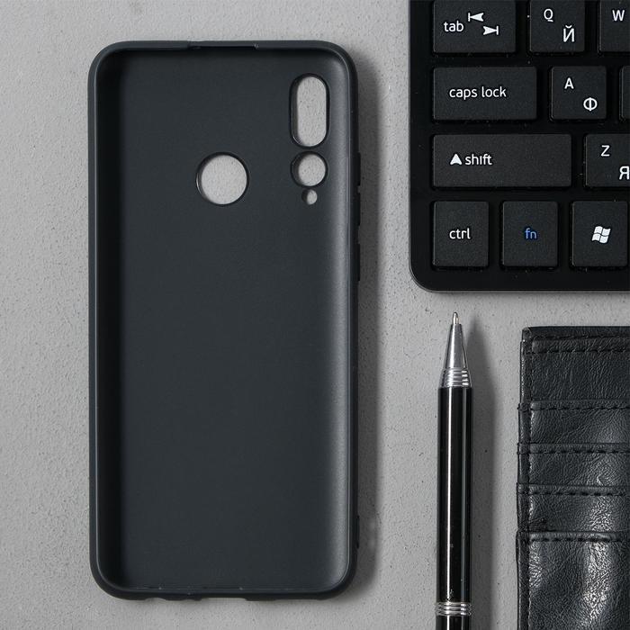 Чехол Innovation, для Huawei Honor 10i/20 Lite, силиконовый, матовый, черный - фото 7