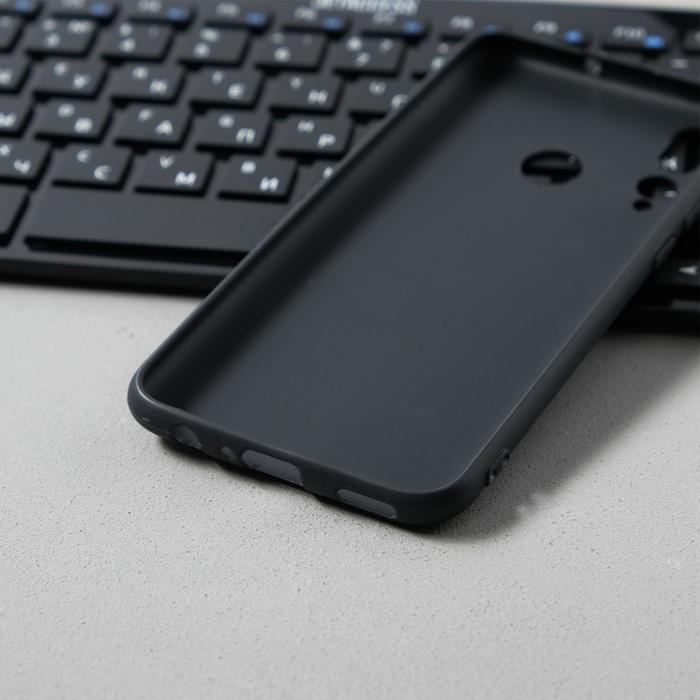 Чехол Innovation, для Huawei Honor 10i/20 Lite, силиконовый, матовый, черный - фото 8