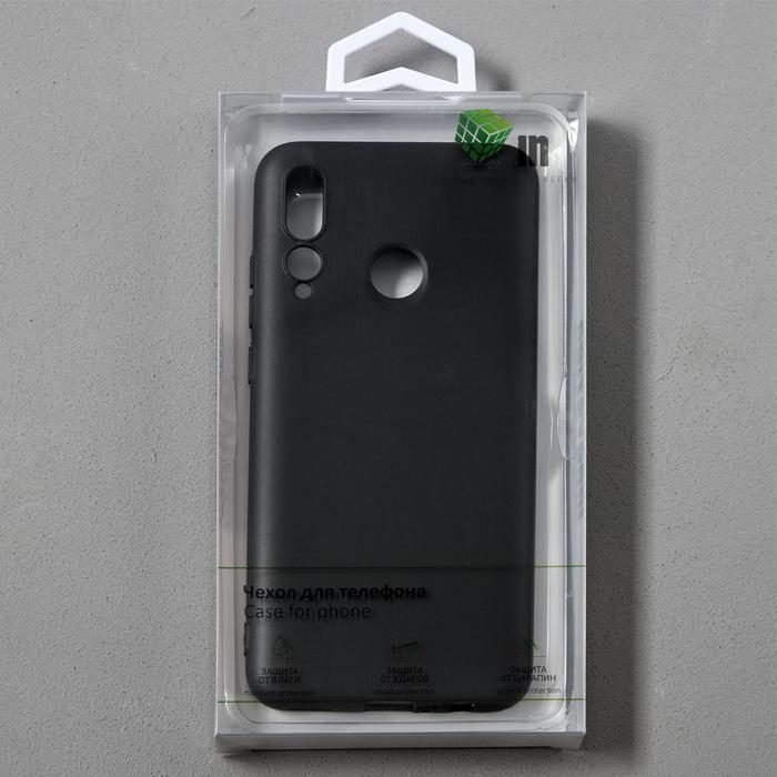 Чехол Innovation, для Huawei Honor 10i/20 Lite, силиконовый, матовый, черный - фото 9